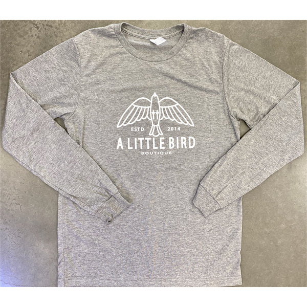 NEW Little Bird Logo Long Sleeve Tee