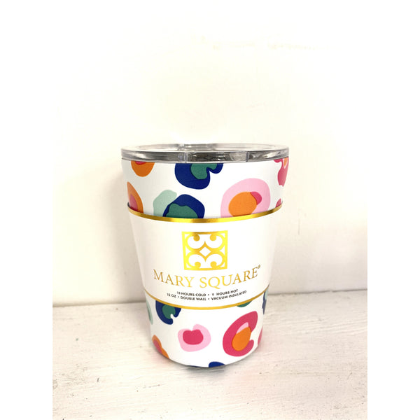 Stainless Coffee Tumbler in Catwalk Confetti
