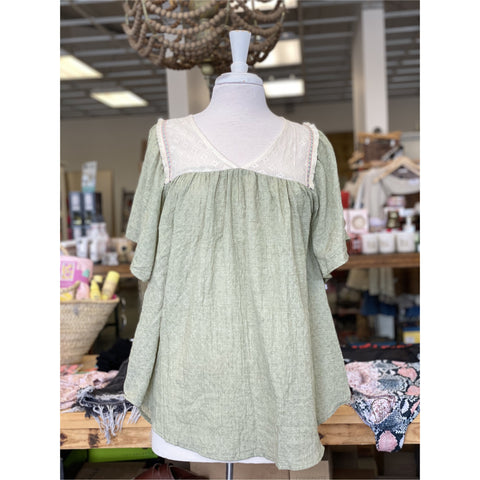 Sweet Olive Blouse