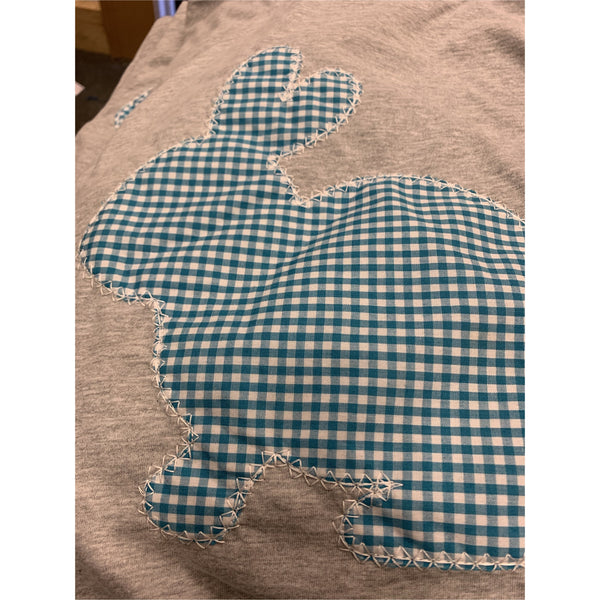 Gingham Bunny T-Shirt