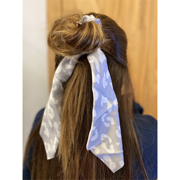 Wildly Wonderful Scarf Scrunchies