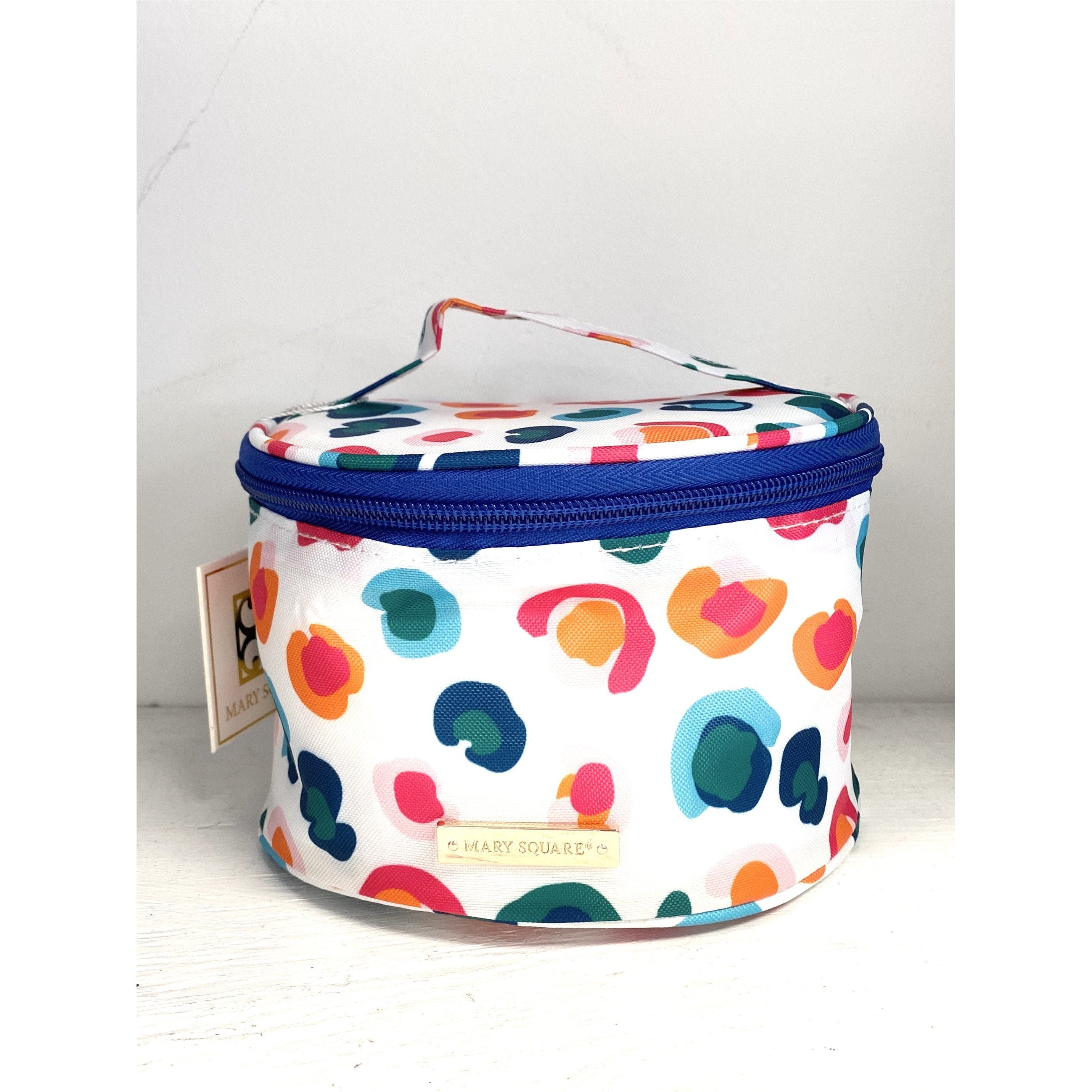 Mary Square Round Jewelry Case in Catwalk Confetti