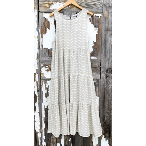 One Line Day Dress