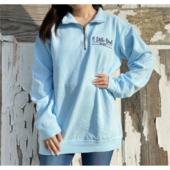 Little Bird Boutique Logo Quarter Zip Jacket