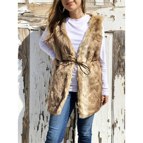 Right Idea Fur Vest