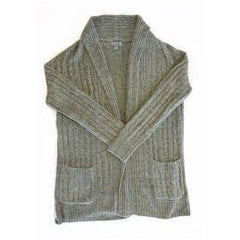 Barefoot Dreams Cozychic Lite Cable Cardigan