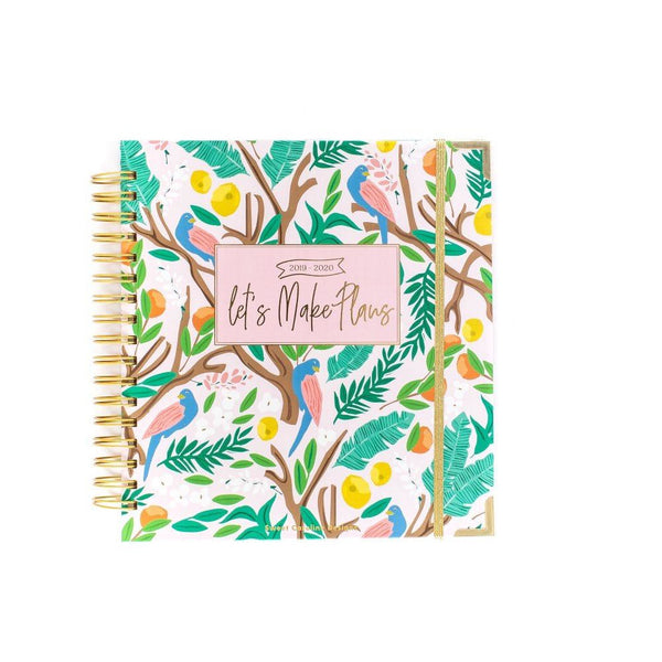 2019-2020 Citrus Dreams Large 17 Month Planner