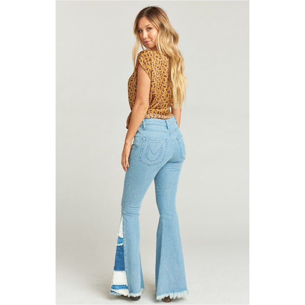 Show Me Your Mumu Woodstock Flare Jeans