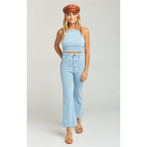 Show Me Your Mumu Cropped Farrah Trouser-Cascade