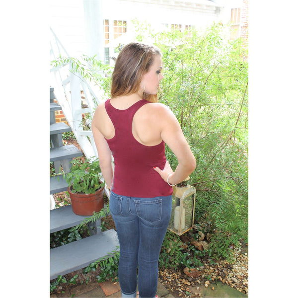 Model Racer-Back Tank - A Little Bird Boutique  - 2