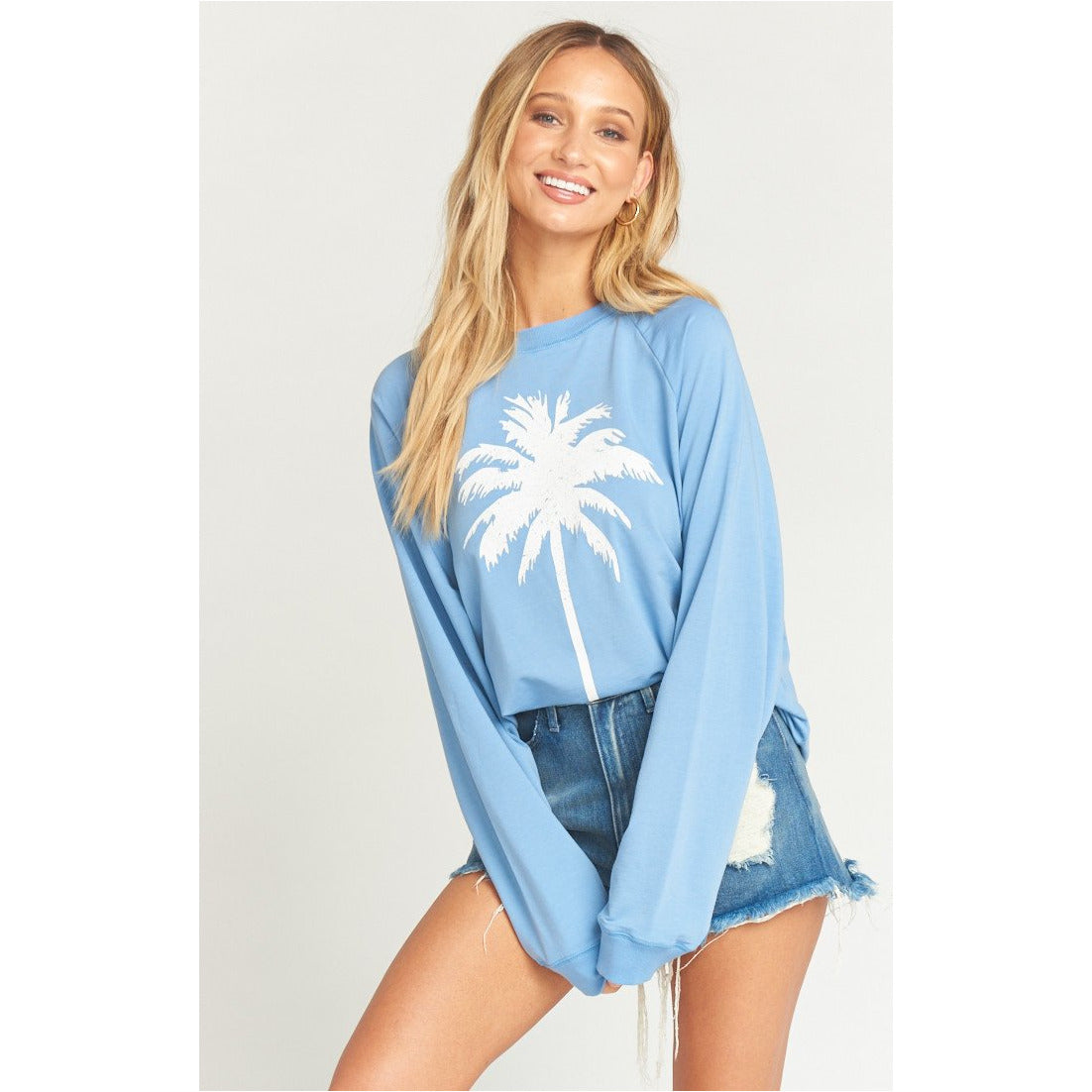 Show Me Your Mumu Simon Palm Pullover