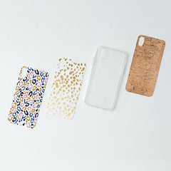 Mary Square CASELIFT Clear Phone Case with Inserts