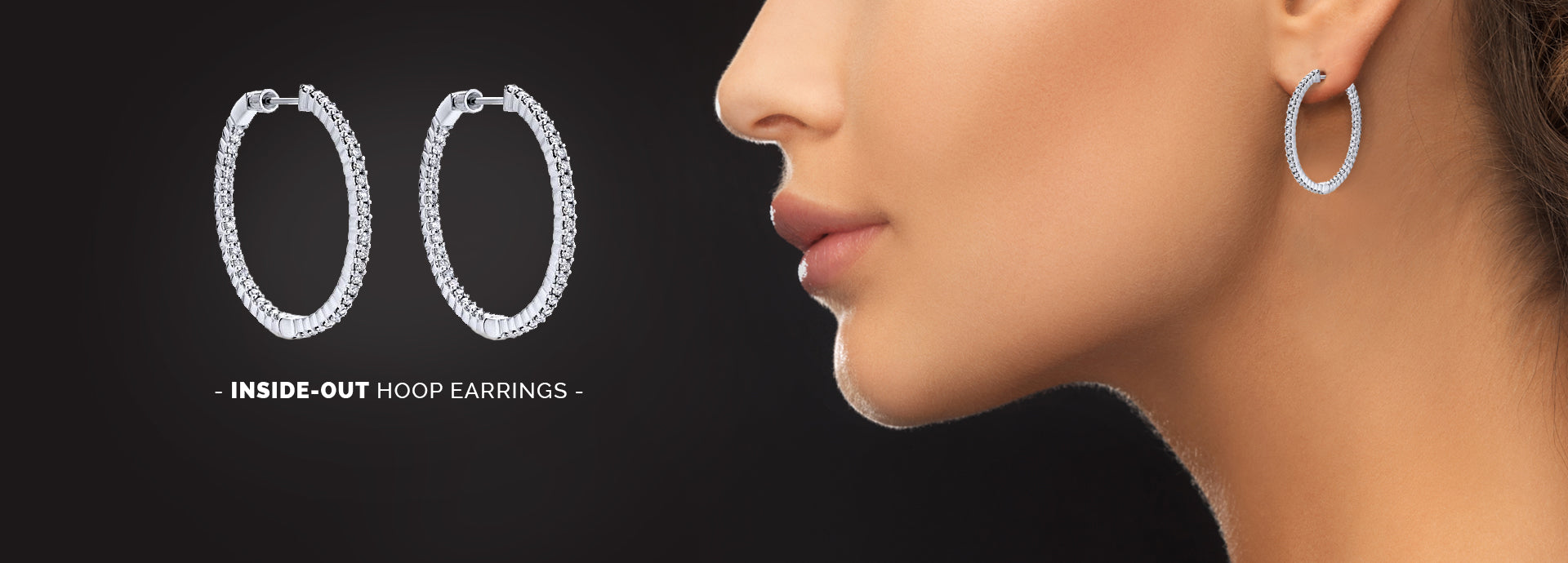 Harlings Jewellers - Inside-Out Hoop Earrings