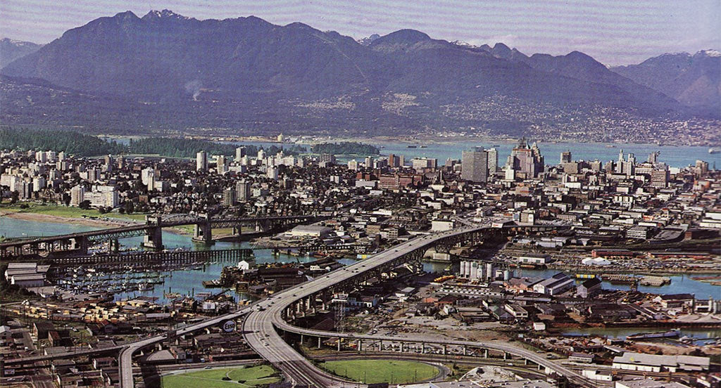 Downtown Vancouver 1964