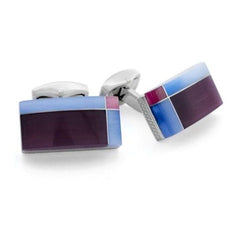 Tateossian Cufflinks, Style Number: Cl2700 - Collection: Rt Tablet Tartan