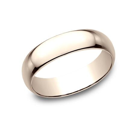 Benchmark White Gold 6mm Ring SKU 160W