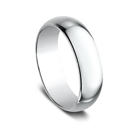 Benchmark White Gold 7mm Ring SKU 170W