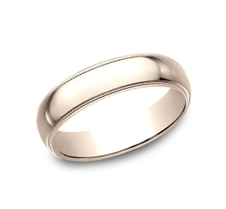 Benchmark Yellow Gold 5mm Ring SKU 350Y