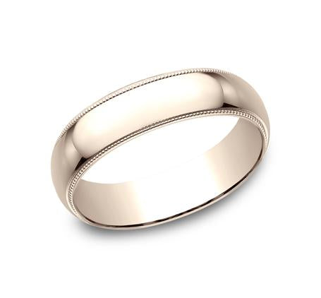 Benchmark Rose Gold 6mm Ring SKU 360R