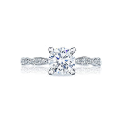 TACORI COMPLETE - Sculpted Crescent Style # 46-2 RD 5.5 W