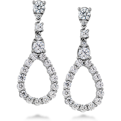 Aerial Diamond Drop Earrings style AerDiaDrE