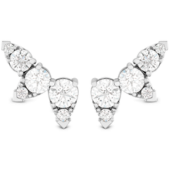Aerial Diamond Ear Vine Earrings style AerDiaVineE