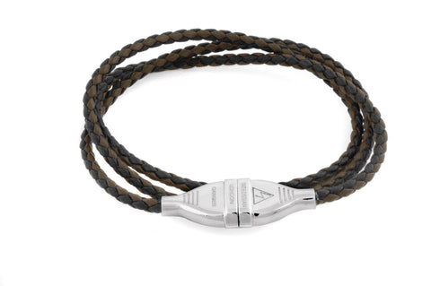 Tateossian Mens Bracelet,  #BL4307 - Electric Silver