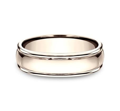 Benchmark Rose Gold 6mm Ring SKU CF15608R