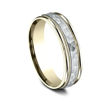 Benchmark Multi-Gold 6mm Ring SKU CF156308