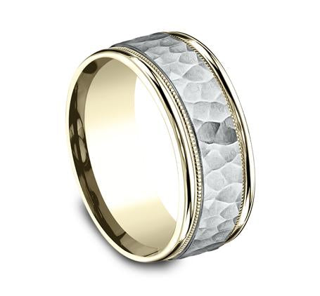 Benchmark Multi-Gold 8mm Ring SKU CF158308