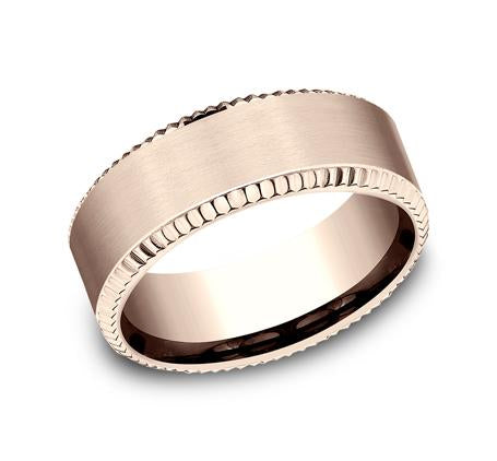 Benchmark Multi-Gold 8mm Ring SKU CF208376