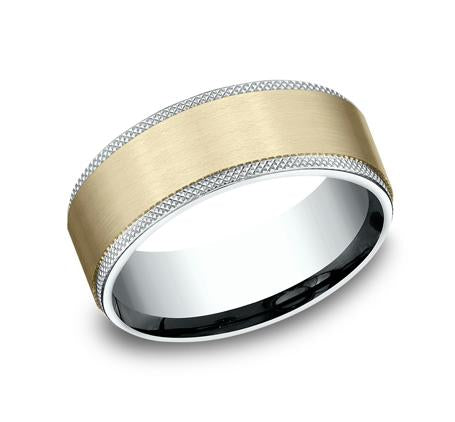 Ammara Stone Yellow Gold 6.5mm Ring SKU CF4965749Y