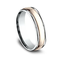 Benchmark Multi-Gold 6mm Ring SKU CF21608
