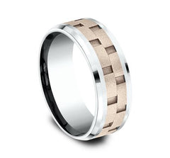 Benchmark Multi-Gold 8mm Ring SKU CF228493
