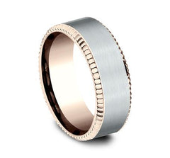 Benchmark Multi-Gold 8mm Ring SKU CF268527