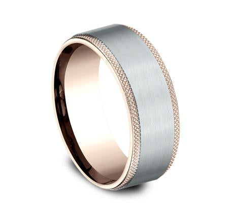 Benchmark Multi-Gold 8mm Ring SKU CF268749