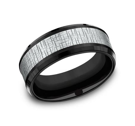 Ammara Stone Multi-Material 8mm Ring SKU CF388752BKTW