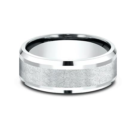 Ammara Stone White Gold 8mm Ring SKU CF408070W