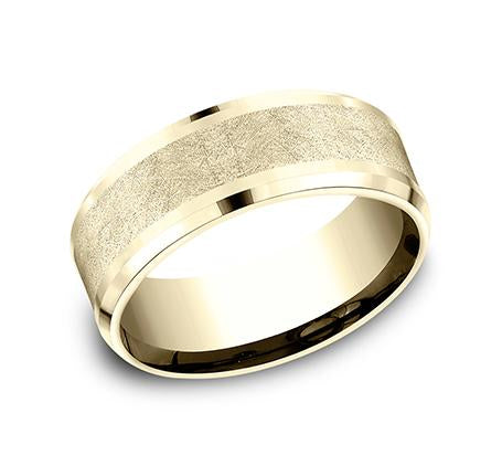 Ammara Stone Yellow Gold 8mm Ring SKU CF408070Y