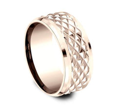 Ammara Stone Rose Gold 9mm Ring SKU CF409679R