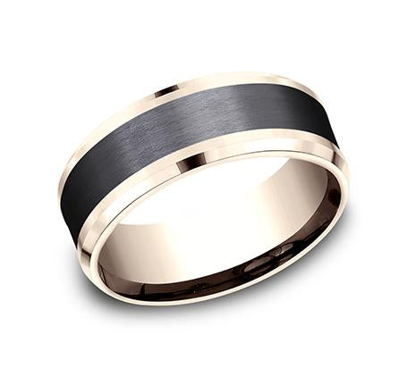 Ammara Stone Multi-Material 8mm Ring SKU CF468010BKTR