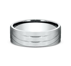Ammara Stone White Gold 7mm Ring SKU CF497760W