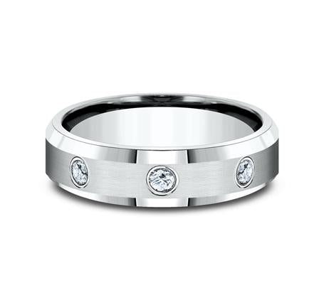 Benchmark Palladium 6mm Diamond Ring SKU CF526132PD