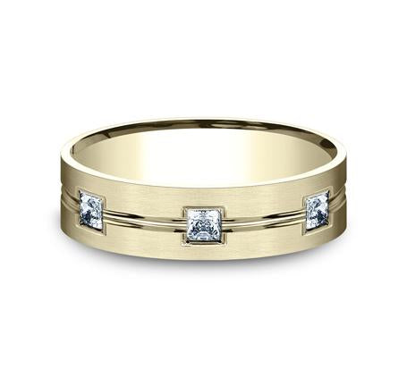 Benchmark Yellow Gold 6mm Diamond Ring SKU CF526828Y