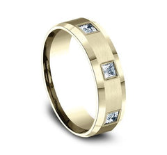 Benchmark Yellow Gold 6mm Diamond Ring SKU CF526832Y