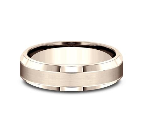 Benchmark Rose Gold 6mm Ring SKU CF66436R