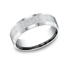 Benchmark White Gold 7mm Ring SKU CF67417W