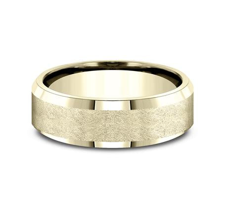 Benchmark Yellow Gold 7mm Ring SKU CF67417Y