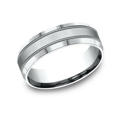 Benchmark White Gold 7mm Ring SKU CF67438W