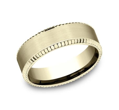 Benchmark White Gold 7mm Ring SKU CF67527W